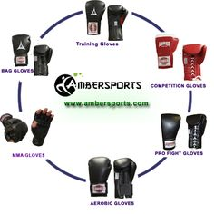 Types of boxing gloves to know more visit: http://www.ambersports.com/catalog/boxing-gear-boxing-gloves-c-1105_21.html