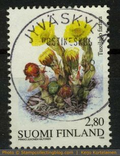 Coldsfeet on Finnish postage stamp