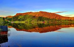 Jonsvatnet Trondheim Norway by Aziz Nasuti on Trondheim Norway, Places To See, Travel Photography, Community, Sky, River, Mountains, Architecture, Landscapes