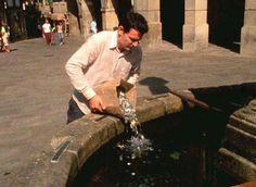 Neulich am Wunschbrunnen...