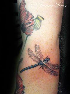 #dragonflytattoo #tattoo #jennakerr