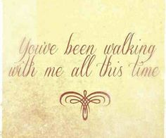 """Britt Nicole lyrics ~ """"You've been walking with me all this time."""""""