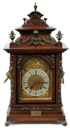 Black Forest Brackett Clock , Lenzkirch