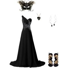 Unseelie ball by lover-of-laughter on Polyvore featuring polyvore, fashion, style, Giuseppe Zanotti and Moschino