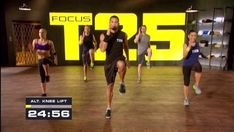 Here is the list of exercises that you will do for the focus t25 workout. The cardio work is one of the first workouts you will do. See the exercise list here.