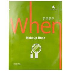 Makeup Base Sheet Mask - When   Sephora