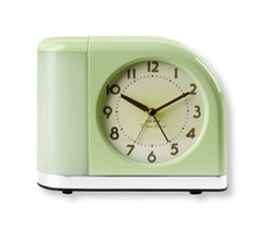 Moonbeam Clock: L.L. Bean reinvigorates a classic. I love waking up to a moonbeam instead of a blaring alarm.