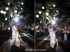 Iluminação, casamento jardim