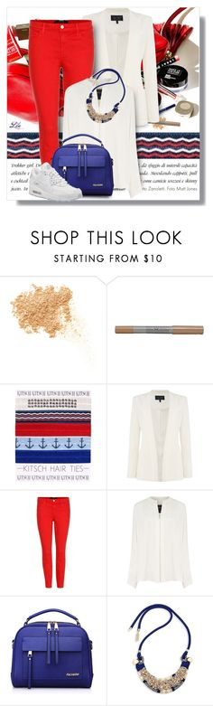 """""""Wardrobe Staples: The White Shirt II"""" by fashion-architect-style ❤ liked on Polyvore featuring Hemingway, Bare Escentuals, Maybelline, Armani Jeans, J Brand, Derek Lam, Weekend Max Mara and NIKE"""