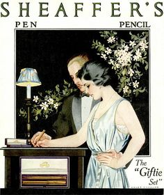 Sheaffer's Coles Phillips 1921