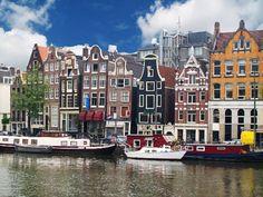Amsterdam,Grachtenpand