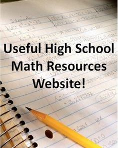 A very useful Wiki.  Topics include:  Pre-algebra, Algebra 1, Algebra 2, Geometry, Graphic organizers, and Keystone Test Prep resources.