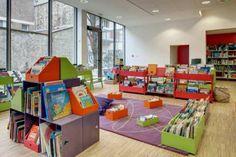 La bibliothèque Louise Michel ouvre ses portes, dans le XXe