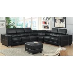 1150 Best Leather Sectional Sofas images | Chaise couch ...