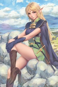 Tagged with anime, fanart, hotgirls, animegirl; Anime Fanart Collection HD Vol. Fantasy Girl, Chica Fantasy, Fantasy Warrior, Fantasy Women, Fantasy Character Design, Character Inspiration, Character Art, Character Portraits, Anime Elf