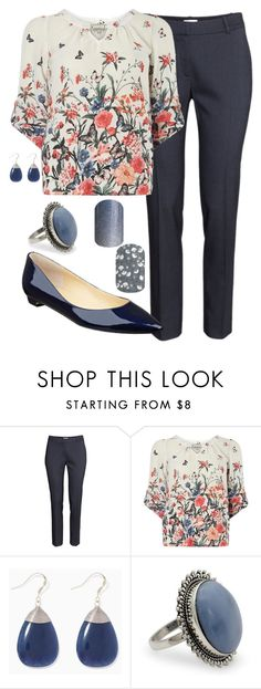 """""""Teacher Outfits on a Teacher's Budget 219"""" by allij28 ❤ liked on Polyvore featuring Dorothy Perkins, NOVICA and Ivanka Trump"""