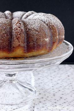 Spiced Rum Eggnog Bundt Cake | beyondfrosting.com | #eggnog #cake #rum by Beyond Frosting, via Flickr