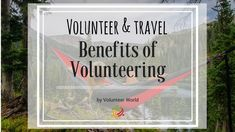 advantages of volunteering abroad