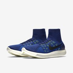Nike Lunarepic Flyknit: Dark Blue