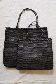 Hand Braided Leather Bag // MAKIE