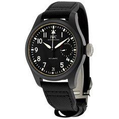 IWC Big Pilot Top Gun Automatic Black Dial Men's Watch IW502001