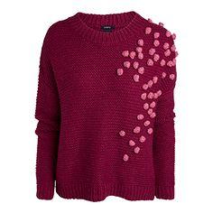 Stickad tröja Röd 799 kr från Lindex