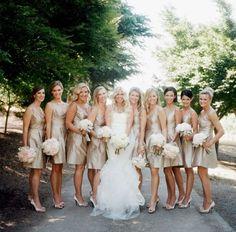 j.crew bridesmaid champagne - Google Search