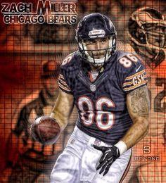 cheap nfl Chicago Bears Zach Miller Jerseys