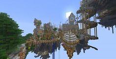 Minecraft Town Building Blueprints | ... City Cielo – Bioshock – minecraft build 6 | Minecraft Building Inc