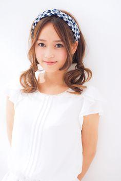 赤ずきんちゃん風ゆるツインテール♡ ハロウィン用のヘアスタイル。髪型・アレンジ・カットの参考に☆