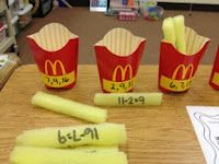 French Fries...good idea for working with categories