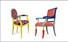 알렉산드로 멘디니의 share some candy라는 의자입니다. 한눈에 보기에도 이목을 사로잡죠?