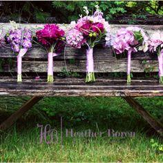 Wedding flowers  www.heatherborenphotography.com