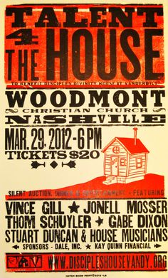Wood Type letter press from the work famous Hatch Print Shop, Nashville Tennessee.
