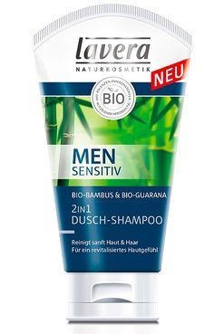 Lavera Men's Sensitive 2 in 1 Shower Shampoo