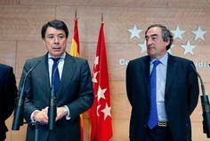 Ignacio González se reúne con el Presidente de la CEOE, Juan Rosell.