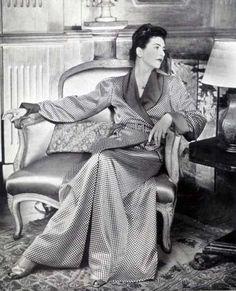 Jeanne Lanvin - Déshabillé - 1940