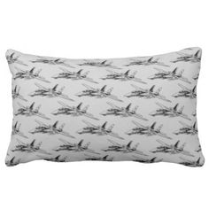 """F-14 Tomcat Lumbar Pillow 13"""" x 21"""" Throw Pillow - home gifts ideas decor special unique custom individual customized individualized"""