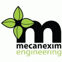 Mecanexim Engineering Logo Vector Download