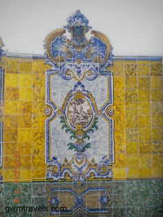 Lisbon, Portugal > View some of the historic ceramic tiles in Lisbon. While you're there, visit the National Tile Museum.