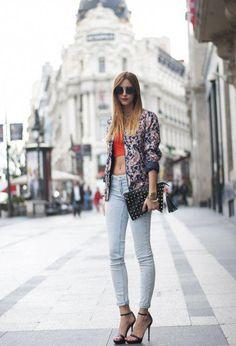 35 Most Popular Street Style For Summer 2013  popularstreetfashion  Pantalones De Mezclilla f8a962e94450