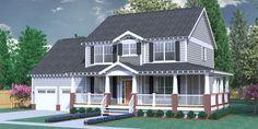 House Plan 2309-A The COLEMAN A w/wrap-around porch