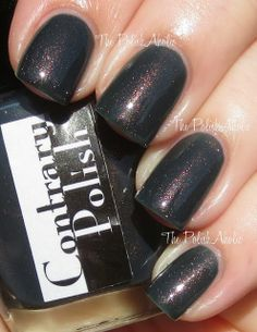 The Boulevard - Contrary Polish Fall 2013 No Place Like Home Collection Swatches (The PolishAholic)