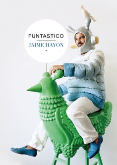Jaime Hayon - Funtastico - Groninger Museum - book available in library @TextielMuseum | TextielLab