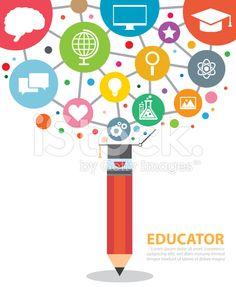 educator royalty-free stock vector art