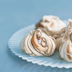 Marbled Chocolate Meringues!  Mostly egg whites~ they are an indulgence, yes, but still on the healthy side :)