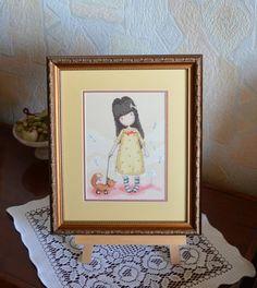 Gorjuss вышивка крестиком - Декор детской комнаты - Ручная вышивка крестиком…