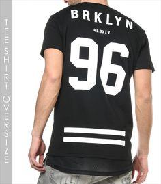 H.Landers Tee Shirt OVERSIZE HL Sira Mode Homme Oversize