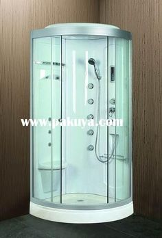 Merveilleux Shower Stalls For Mobile Homes | ... Your Bathroom Beautiful: Glass  Enclosed Showers Stall U2013 Nixgear.com | Bathrooms | Pinterest | Showers,  Glass And Shower ...
