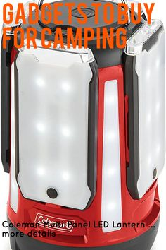 (This is an affiliate pin) Coleman Multi-Panel LED Lantern Led Lantern, Lanterns, Camping Lights, Lamps, Lantern, Light Posts